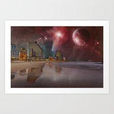 SPACE TLV Art Print