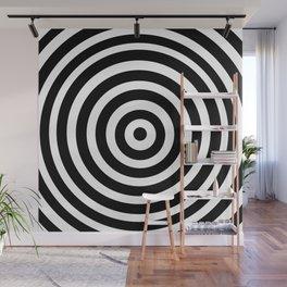 Circle Illusion Wall Mural