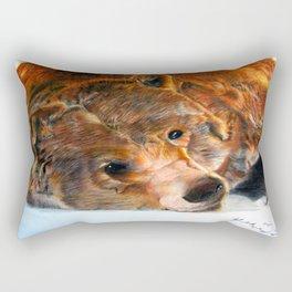 Lazy Bear Rectangular Pillow