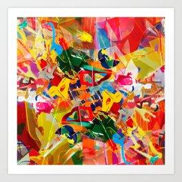 Kaleidoscope Plexi-glass Art Print