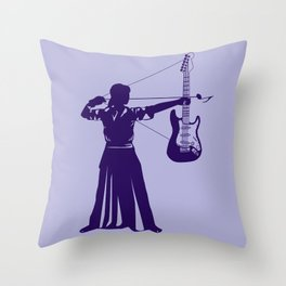 Musicarchery Throw Pillow