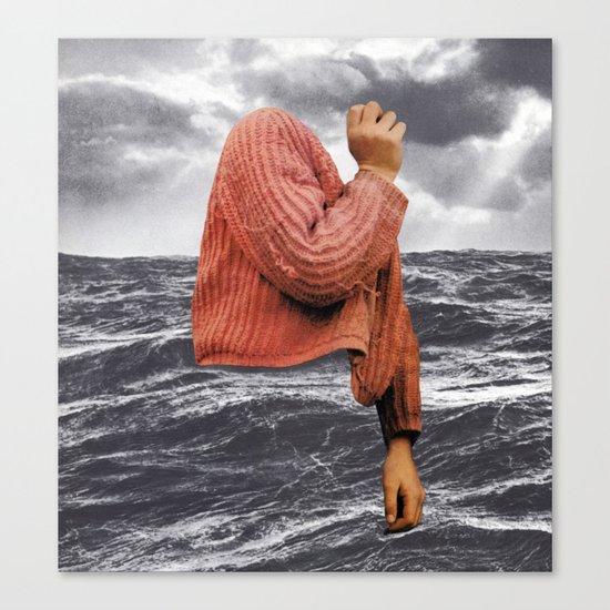 HIGH SEAS Canvas Print