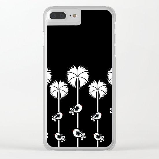 bird20 Clear iPhone Case