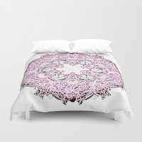 circle Duvet Covers featuring Circle by AstridJN