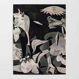 GUERNICA #1 - PABLO PICASSO Poster