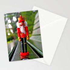 Park-bench Yuletide Stationery Cards