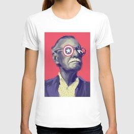 Marvellous Stan, POP art style, digitally painted portrait T-shirt