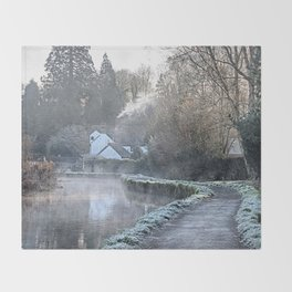 Causeway To The Chequers Throw Blanket