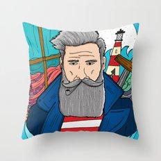 The Sailor Throw Pillow