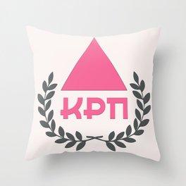 Commie Pinko Fag: Family Crest Throw Pillow