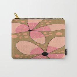 FLOWERY FLORA / ORIGINAL DANISH DESIGN bykazandholly Carry-All Pouch