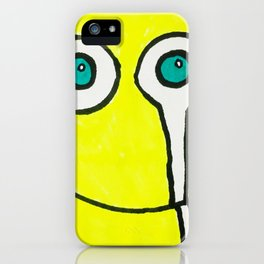 Crying Smiley Face iPhone Case