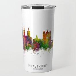 Maastricht The Netherlands Skyline Travel Mug