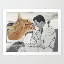 Planet Feline Art Print
