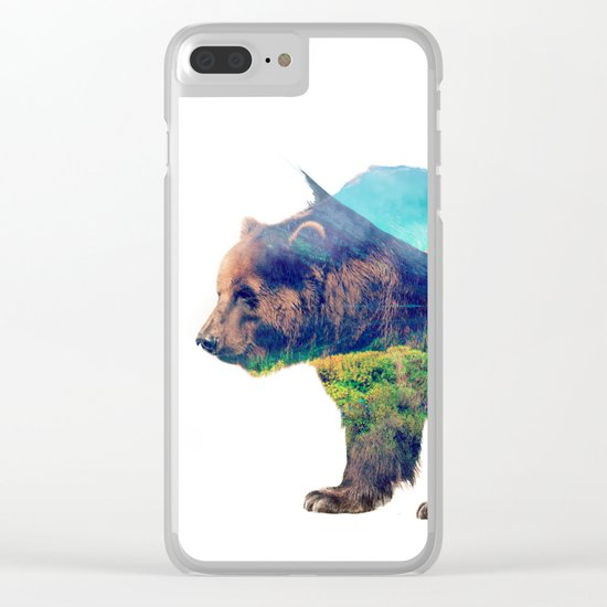 Nature Giant Clear iPhone Case