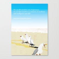 Jonathan Livingston Seagull Canvas Print