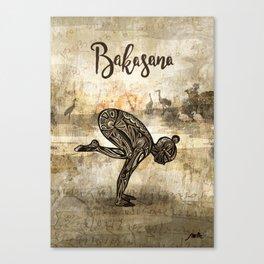 Bakasana Canvas Print