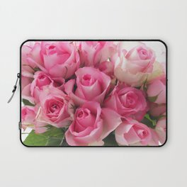 Pink Roses Bouquet Laptop Sleeve