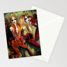 Twins 1 of 3 Stationery Cards