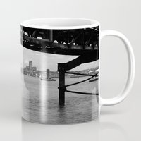 liverpool Mugs featuring Liverpool - An Alternative View by Caroline Benzies Photography
