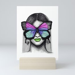 Busy Transforming Mini Art Print