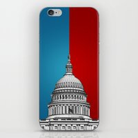 politics iPhone & iPod Skins featuring American Politics by politics