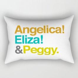 And Peggy Rectangular Pillow