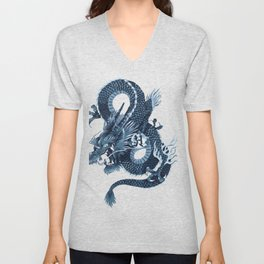 Blue Dagon Unisex V-Neck