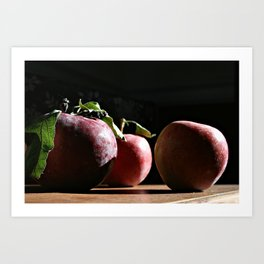 Autumn Apples II (Honoree, BlogHer 2015 Voices of the Year, Photo Category) Art Print