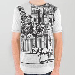 New Orleans All Over Graphic Tee
