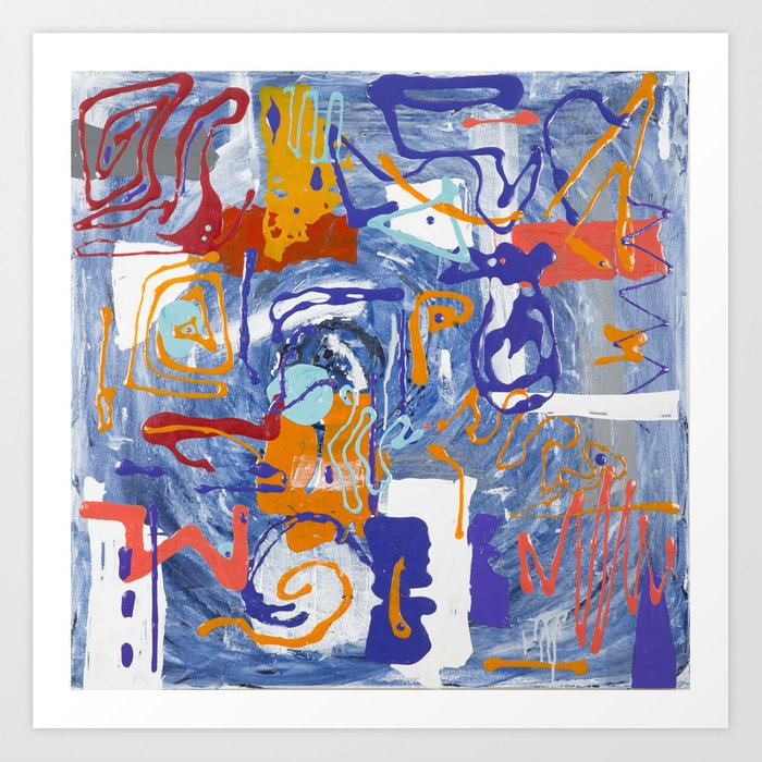 Shamanic Painting 01 Kunstdrucke