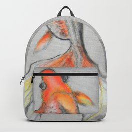 Goldfish Pond (close up #6) #society6 #decor #buyart Backpack