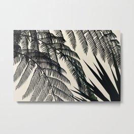 Palms at Dusk Metal Print