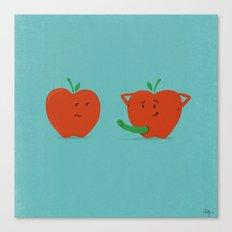 Bad Apple Canvas Print