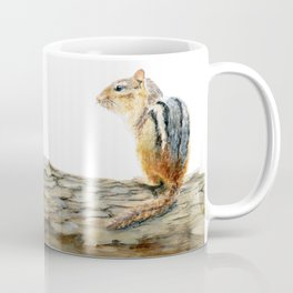 Little Chip - a painting of a Chipmunk by Teresa Thompson Coffee Mug