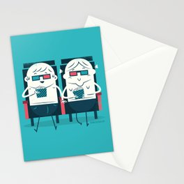 :::Cinema Couple::: Stationery Cards