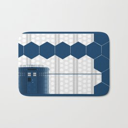 Tardis Doctor Bath Mat