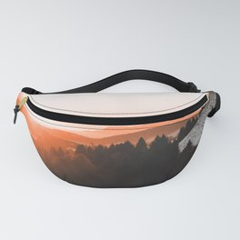 Warm Mountains Fanny Pack