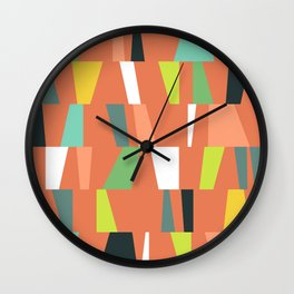 Modern Geometric 38 Wall Clock