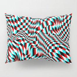 TEZETA (warped 3D geometric pattern) Pillow Sham