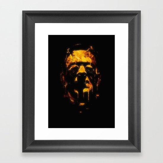 Franky Framed Art Print