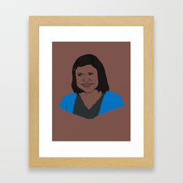 Kelly Rajnigandha Kapoor Framed Art Print