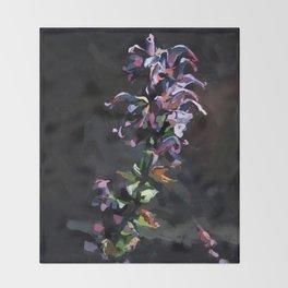 Noche Violeta Throw Blanket