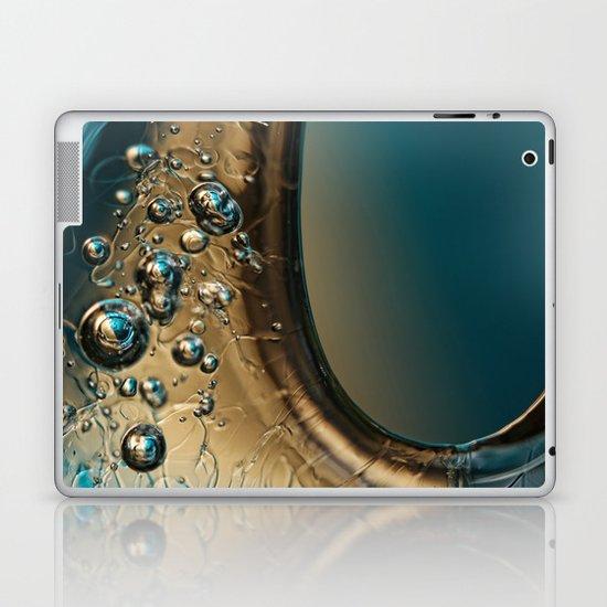Ice Blue Laptop & iPad Skin