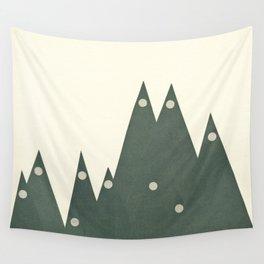 Moonlit Peaks Wall Tapestry