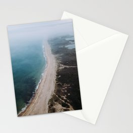 Charlestown Breachway, RI Stationery Cards
