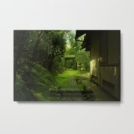Green Grove Metal Print