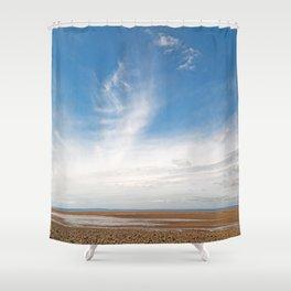 Pegasus Cloud Beach Shower Curtain