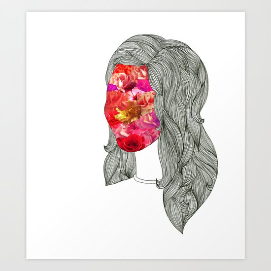 Anthea Art Print