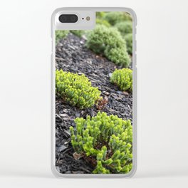 Bushed Clear iPhone Case